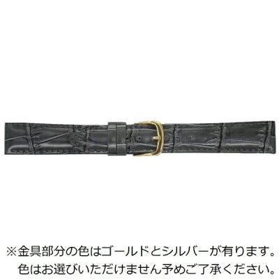 ビーケイシーBEAR時計バンド 革 16-mm・カーフ・ダークグレー 1301516