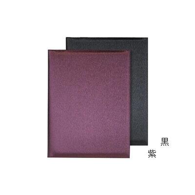 シルキー調インフォメーション-JZ バインダー式 A-4 8ページ仕様 紫