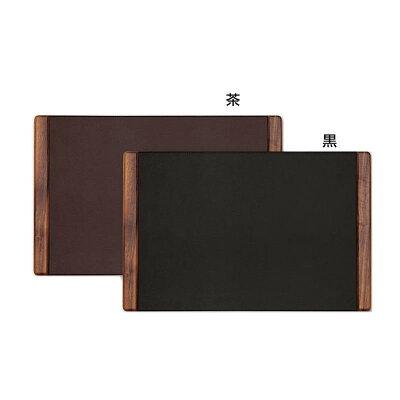 デスクマット WD-1050 黒 1362305