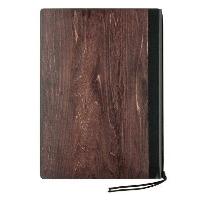 シンビ シンビ 木製メニューブック #1900-2 茶
