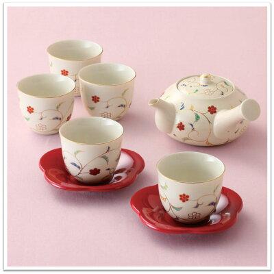 たち吉 色唐草 茶器 015-0131