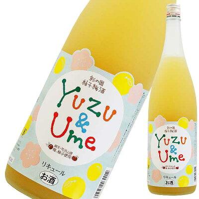 麻原酒造 彩の国 柚子梅酒 1.8L