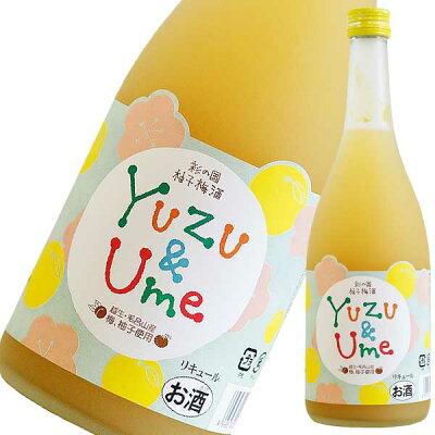 麻原酒造 彩の国 柚子梅酒 720ml