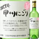 シャトー酒折 甲州にごりワイン 20年 甲府地区 720ml