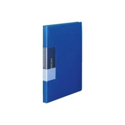 スリムクリヤーブック40p fcb-a4-40rb r青