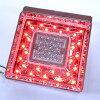 JB 角型LEDテールランプ単体 クリアレンズ LED赤/センター無灯火