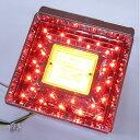 JB 角型LEDテールランプ単体 クリアレンズ LED赤/橙 ウインカー用