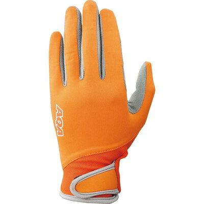 AQA/アクア KW4471A-4305 UV ライトグローブ キッズII オレンジ
