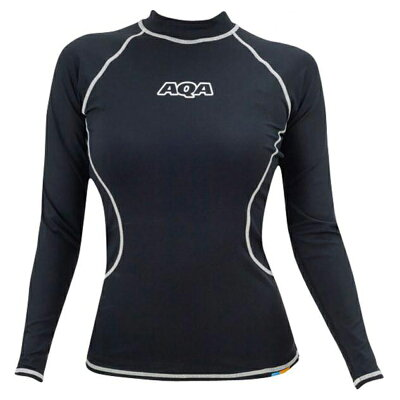AQA  UV ラッシュガード ロングレディース 女性用 ラッシュガード 長袖 ウエットスーツ の インナー に最適 KW4605B KW-