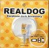 REAL DOG イヤフォンジャックアクセサリー コーギー