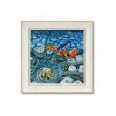 ユーパワー Gaspard et Lisa リサとガスパール アートフレーム Sサイズ メリークリスマス! GL-02018