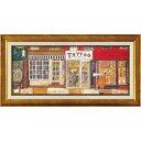 あなたの住む街角で アートフレーム サム・トフト ST-10021 ユーパワー 63.5x32.5cm ギフト 絵画 額付きポスターインテリア通販