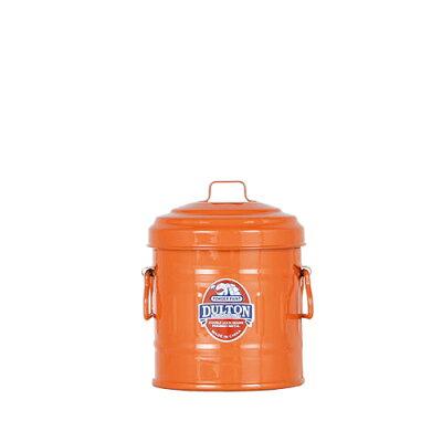 ダルトン(DULTON)Micro garbage can Orange ガベージカン