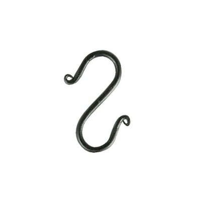 "IRON ""S"" HOOK ANTIQUE BLACK"