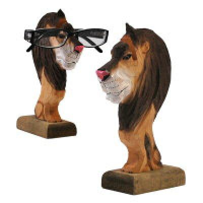 """木製グラスホルダー""""サファリ"""" wooden glasses holder""""safari"""" メガネ置き"""
