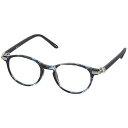 DULTON YGJ76/ジョン レノンもかけていたレトロな金具がなロイドメガネ老眼鏡 2.5, Blue/Blue