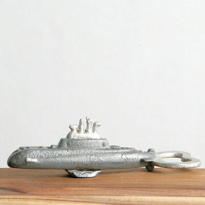 IRON BOTTLE OPENER SUBMARINE