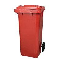 (DULTON)ダルトン Plastic trash can 120L (RED)