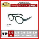 DULTON ジョン レノンもかけていたロイドメガネタイプの老眼鏡 1.0, Black