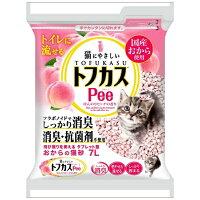 猫砂 おから トフカスピー(Pee) ピンク(7L)