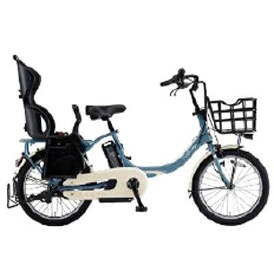 ヤマハ YAMAHA 20型 電動アシスト自転車 PAS Babby un(パウダーブルー2/内装3段変速)19PA20BXLR2019年・リヤチャイルドシート標準搭載モデル
