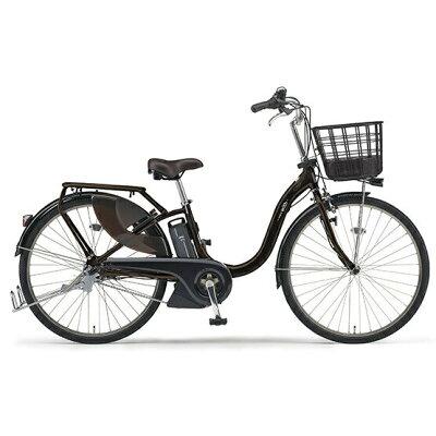 ヤマハ YAMAHA 26型 電動アシスト自転車 PAS With(ダークメタリックブラウン/内装3段変速)19PA26W2019年モデル