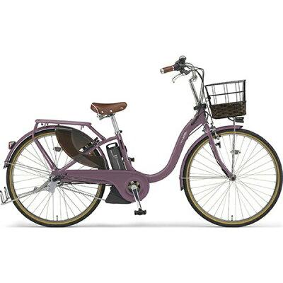 ヤマハ YAMAHA 26型 電動アシスト自転車 PAS With DX(ワインレッド/内装3段変速)PA26BGWD92019年モデル