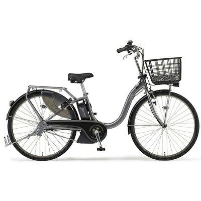 ヤマハ YAMAHA 26型 電動アシスト自転車 PAS With SP(グレーメタリック/内装3段変速)PA26BGWP92019年モデル