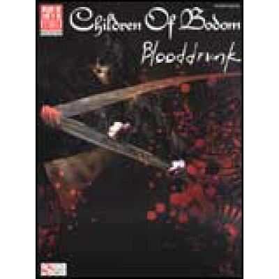 楽譜 チルドレン・オブ・ボドム ブラッドドランク #091400 輸入楽譜ギター・タブ譜
