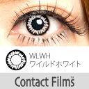 度なし Contact Films(コンタクトフィルム) マンスリー ワイルドホワイト 2枚入 レンズ直径14.0mm