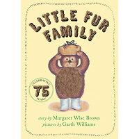 Little Fur Family Board Book /HARPER FESTIVAL/Margaret Wise Brown