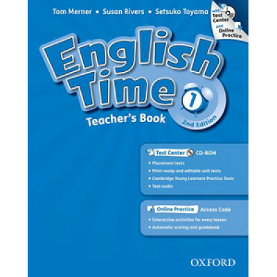 English Time 2nd Edition Level 1 Teacher's book with Test Center & Online Plactice
