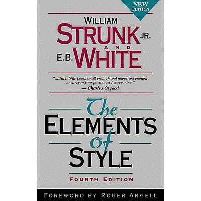 The Elements of Style /ALLYN & BACON/William Strunk, Jr.