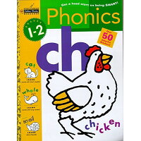 PHONICS: GRADES 1-2 WITH STICKERS /OTHERS/GOLDEN BOOKS