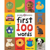 FIRST 100 WORDS(BB) /PRIDDY BOOKS (USA)/ROGER PRIDDY