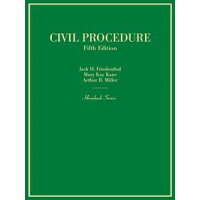 Civil Procedure Jack Friedenthal