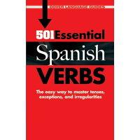 501 Essential Spanish Verbs /DOVER PUBN INC/Pablo Garcia Loaeza