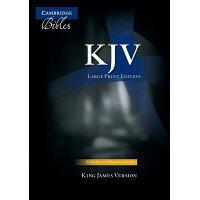 Large Print Text Bible-KJV /CAMBRIDGE UNIV PR/Cambridge University Press