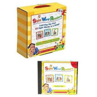 Sight Word Readers Parent Pack: Learning the First 50 Sight Words Is a Snap! With Mini-Workbook /SCHOLASTIC TEACHING RES/Scholastic Teaching Resources