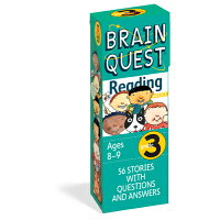 BRAIN QUEST READING GRADE 3 /WORKMAN PUBLISHING CO (USA)./WORKMAN PUBLISHING