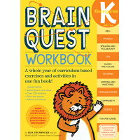 Brain Quest Workbook: Kindergarten With Stickers /WORKMAN PUB CO/Lisa Trumbauer