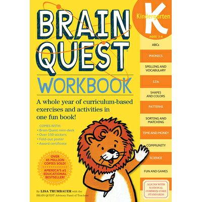 BRAIN QUEST WORKBOOK:KINDERGARTEN(P) /WORKMAN PUBLISHING CO (USA)./LISA TRUMBAUER