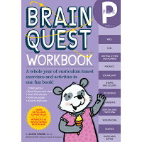BRAIN QUEST WORKBOOK:PRE-K(P) /WORKMAN PUBLISHING CO (USA)./LIANE ONISH