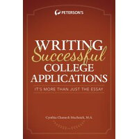 Writing Successful College Applications Cynthia Muchnick