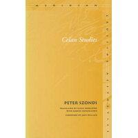 Celan Studies /STANFORD UNIV PR/Peter Szondi
