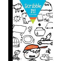 Scribble It!: 30 Postcards /CHRONICLE BOOKS/Taro Gomi