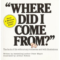 Where Did I Come From? /CITADEL PR/Peter Mayle