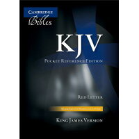 Pocket Reference Bible-KJV /CAMBRIDGE UNIV PR/Cambridge University Press