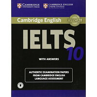 Cambridge IELTS 10 Self-study Pack:Student's Book with Answers and Audio(ケンブリッジ アイエルツ  問題集10)解答・音声ダウンロード用アクセスコード付き