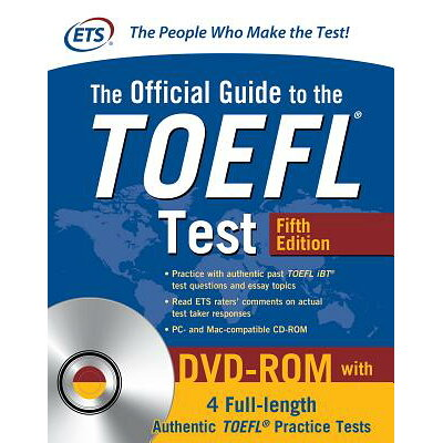 The Official Guide to the TOEFL Test with DVD-Rom, Fifth Edition /MCGRAW HILL BOOK CO/Educational Testing Service